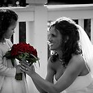 Bride and Flower Girl Daughter by DeeZ (D L Honeycutt)