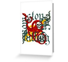 Stop the Killing Greeting Card