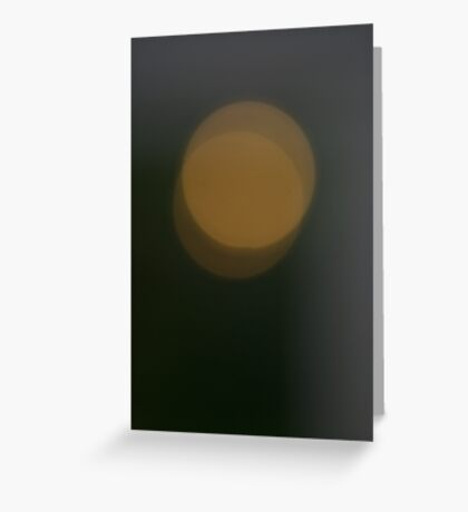 Toned shapes Greeting Card