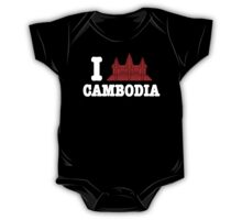 I Angkor (Love) Cambodia One Piece - Short Sleeve