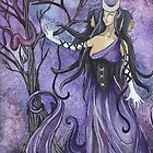 Hecate Goddess of the Crossroads by Heather Reid