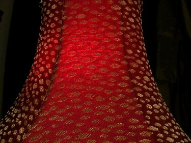 Red Lamp Shade by trueblvr