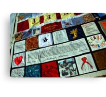 AIDS Quilt - 1 Canvas Print