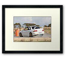 Oz Gymkhana #34 WRX Framed Print