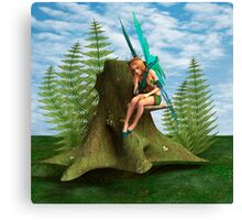 Thoughtful Fairy Canvas Print