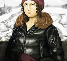 Mona Lisa in winter by Perfectelu
