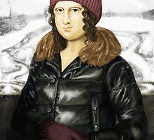 Mona Lisa in winter by Perfectelu