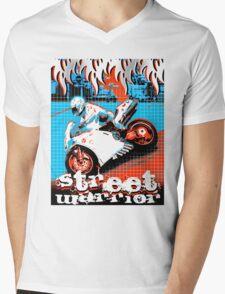 tribe machine street Mens V-Neck T-Shirt