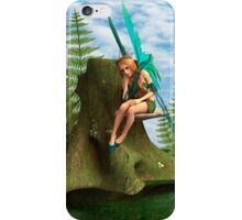 Thoughtful Fairy iPhone Case/Skin