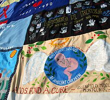 AIDS Quilt - 3 by Cora Wandel