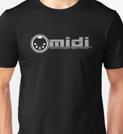 MIDI - Musical Instrument Digital Interface Unisex T-Shirt