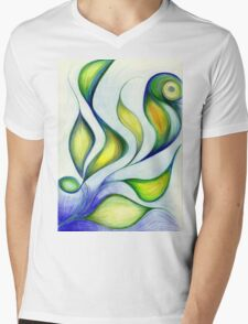 Leaves of a Feather Mens V-Neck T-Shirt