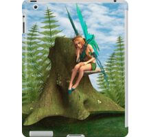 Thoughtful Fairy iPad Case/Skin