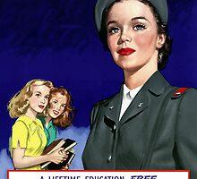 US Cadet Nurse Corps by warishellstore