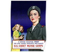 US Cadet Nurse Corps Poster