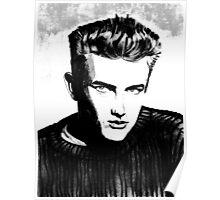Jimmy Dean: Black & White Poster