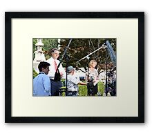Reporting From The Supreme Court Framed Print