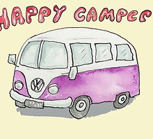 Happy Camper  by AndyLanhamArt