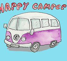 Happy Camper #2 by AndyLanhamArt