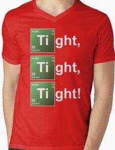 TIGHT TIGHT TIGHT Mens V-Neck T-Shirt