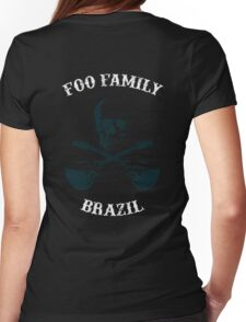 Foo Family Brazil Womens Fitted T-Shirt