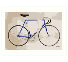 The Gios Track Bike Art Print