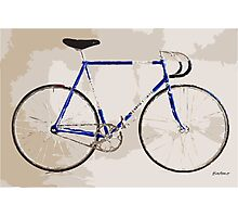 The Gios Track Bike Photographic Print