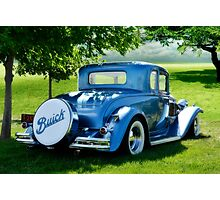 Buck's Buick Photographic Print