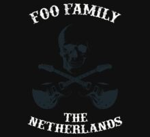 Foo Family The Netherlands Kids Tee