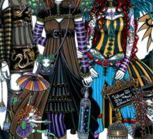 A Fairy Steampunk Circus Sticker