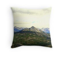 """Mount Starr King"" Throw Pillow"