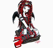 Crimson Cybergoth Angel Unisex T-Shirt