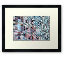 Window Blinds Framed Print