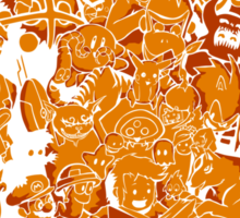 Tales of Video Games (orange) Sticker