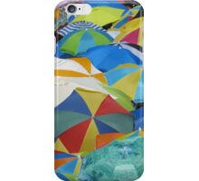 A Sea of Umbrellas iPhone Case/Skin