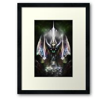 Tyrinan The Horikin God Of War Framed Print