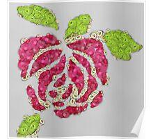 Fruit & Vegetable Rose Poster