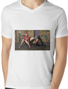 Too Cool For School Mens V-Neck T-Shirt