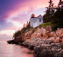 Bass Harbor Lighthouse by MIRCEA COSTINA