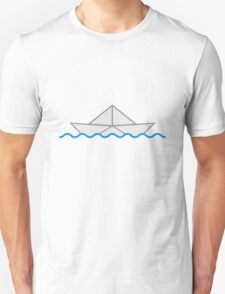 Swimming Paper Boat T-Shirt