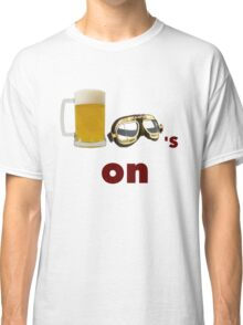 beer goggles on Classic T-Shirt