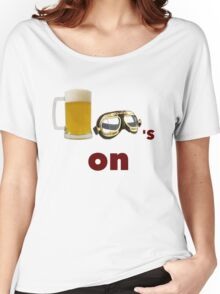 beer goggles on Women's Relaxed Fit T-Shirt