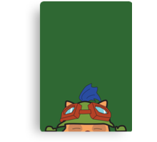 Portraits of the League - Teemo Canvas Print