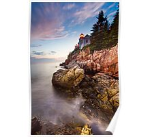 High Tide Lighthouse Poster