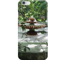 The Garden Fountain iPhone Case/Skin
