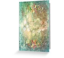 Yule Wishes Greeting Card
