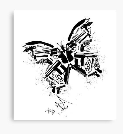Killer fly Canvas Print