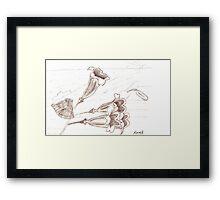Trumpet Lily Framed Print