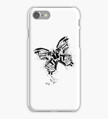 Killer fly iPhone Case/Skin