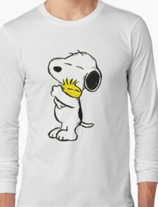 Snoopy and Woodstock Long Sleeve T-Shirt